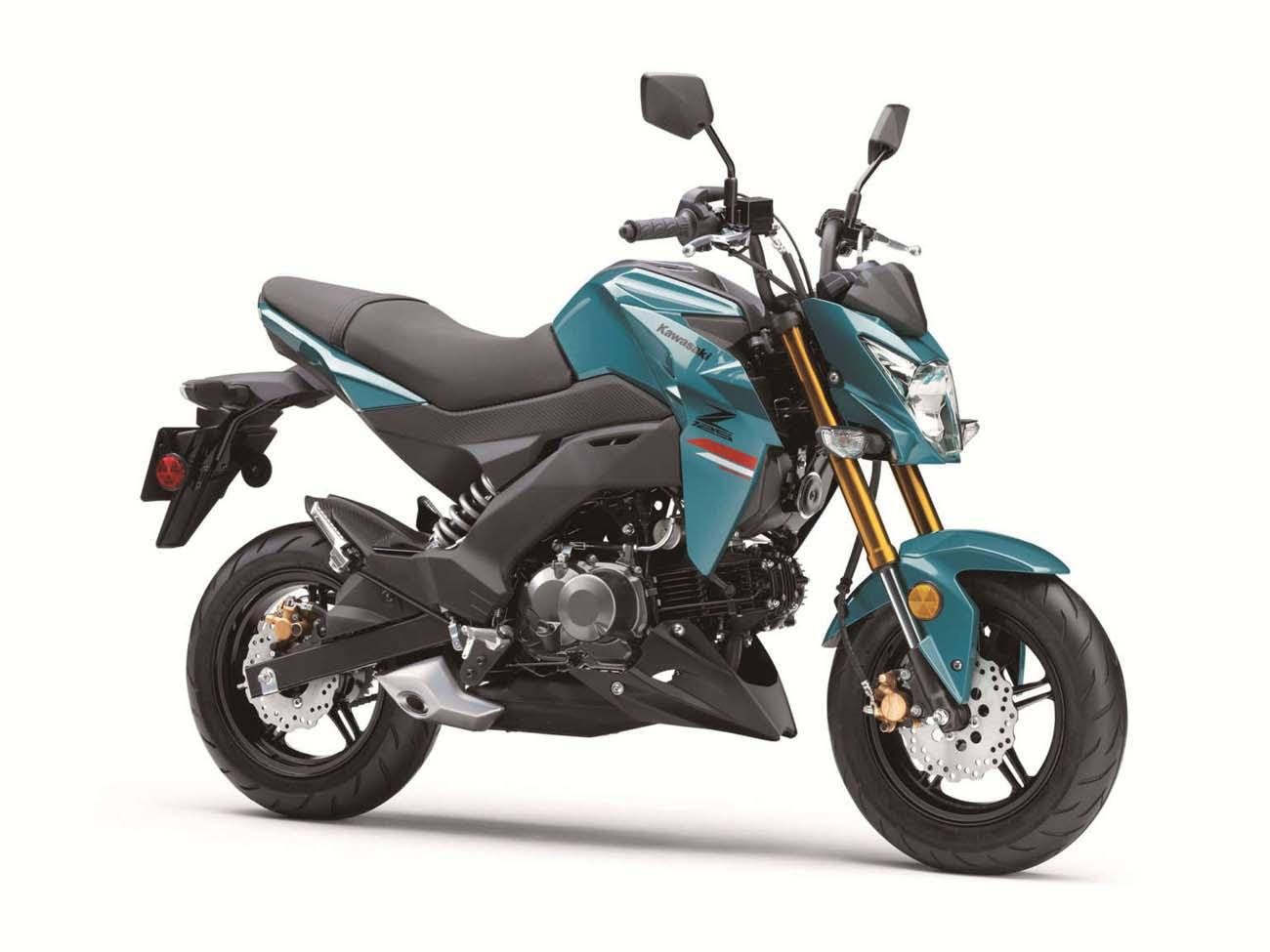 Kawasaki Z125 technical specifications
